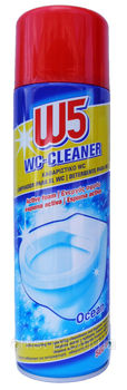 купить W5 пена для чистки унитазов WC-Cleaner (500 мл) в Кишинёве