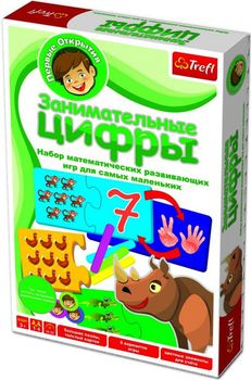 "01103 Trefl Game - ""Цифры"" Занимательные цифры RU/UA"