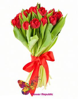 купить Букет из  Красных тюльпанов в Кишинёве