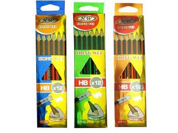 """cumpără Set creioane simple """"Hong Wei"""", HB 12 buc în Chișinău"""