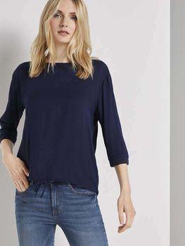 Блуза TOM TAILOR Темно синий 1021415 tom tailor