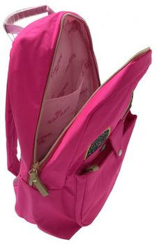 """Рюкзак """"Cat Style"""" Safari I розовый неон"""