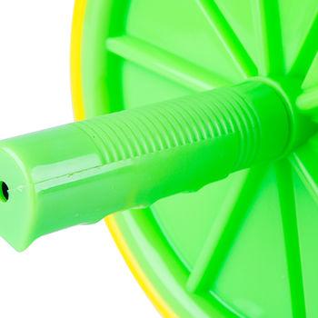 Ролик для пресса d=18 см AR150 13167 yellow/green (4199) inSPORTline