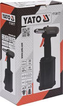 купить Пневматическая клепальная машина YATO 4,0-6,4 мм YT-36177 в Кишинёве