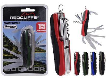 Нож карманный Redcliffs 15 функций, 9cm