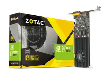 купить ZOTAC GeForce GT 1030 2GB GDDR5, 64bit, 1468/6000Mhz, Single Fan, HDCP, SL-DVI-D, HDMI, Lite Pack в Кишинёве