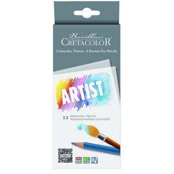 Набор цветных акварельных карандашей, 12 цв, Artist Studio Cretacolor