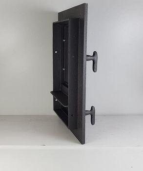 Дверца чугунная глухая правая DW12R