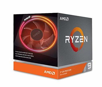AMD Ryzen 9 3900X, Socket AM4, 3.8-4.6GHz (12C/24T), 64MB Cache L3, No Integrated GPU, 7nm 105W, Box (with Wraith Prism RGB LED Cooler)