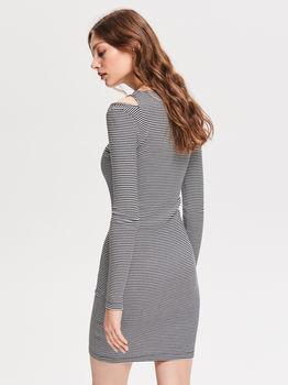 Платье RESERVED В полоску vf356-00x