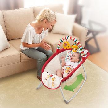 купить Bright Starts Кроватка-шезлонг Playful Pinwheels в Кишинёве