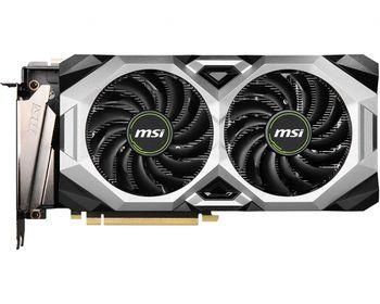 MSI GeForce RTX 2080 SUPER VENTUS XS OC 8G /  8GB GDDR6 256Bit 1830/15500Mhz, 1x HDMI, 3x DisplayPort, 1x USB Type-C, Dual fan - Customized Design (Double Ball Bearing/Smooth Heat Pipes), TORX Fan 2.0, Gaming App, Retail