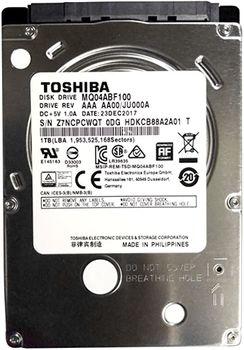 """HDD 2.5"""" Toshiba MQ04ABF100 1.0 Tb, 5400rpm, 8Mb, SATA3"""