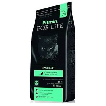 купить Сухой корм для кошек Fitmin For Life Castrate 8 Kg в Кишинёве