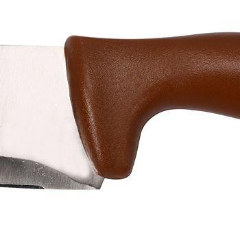 купить Нож для колбас 290 мм, коричневый в Кишинёве