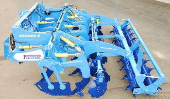 купить Digger 4 N - глубинный культиватор 9 лап (3,9 метра) с катком, и закрывающими дисками - Фармет в Кишинёве