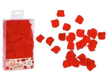 Набор лепестков розы 150шт 5X5cm, красный
