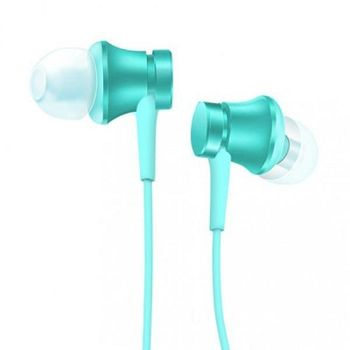 """Xiaomi """"Piston Basic Edition"""" In-ear Earphones, Matte Blue, 3.5mm, Microphone, Rated Power 5mW, Speaker Impedance 32ohms, Frequency response: 20~20KHz, Hands free calling features, Cord type cable 1.2 m"""