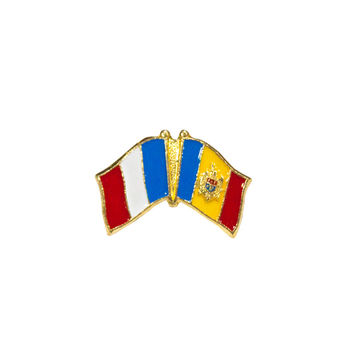 cumpără Insignă - Drapel Franța & Moldova în Chișinău