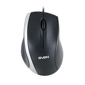 Mouse SVEN RX-180, Optical Mouse, 800 dpi, USB, Black