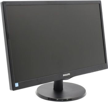 "Monitor 21.5"" PHILIPS 223V5LSB2/10 Black (5ms, 10000000:1, 250cd,  1920x1080)"
