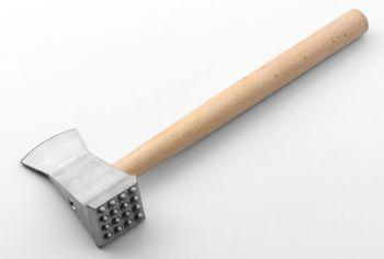 Молоток-топорик для мяса Gadget Lillo,алюминий/дерево