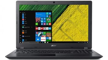 "ACER Aspire A315-51 Obsidian Black (NX.H38EU.023) 15.6"" FullHD (Intel® Core™ i3-8130U 2.20-3.40GHz (Kaby Lake), 8Gb DDR4 RAM, 1.0TB HDD, Intel® HD Graphics 520, w/o DVD, WiFi-AC/BT, 2cell, 0.3MP CrystalEye webcam, RUS, Linux, 2.1kg)"