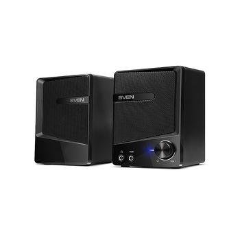 Active Speakers SVEN 248 Black USB, RMS 6W, 2x3W (boxe sistem acustic/колонки акустическая система)