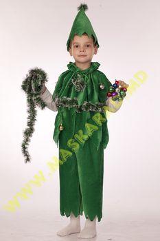 Карнавальный костюм: Ёлочка  (мальчик)