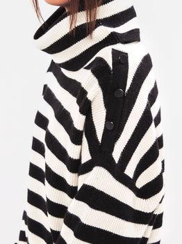 Трикотаж Tom Tailor Белый/черный tom tailor 1007655