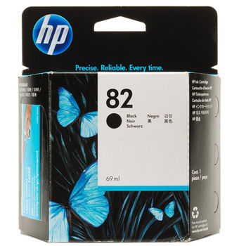 HP No.82 Black Ink Cartridge (69ml)