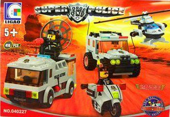 """Dr. Luck Конструктор """"Super Force Police"""" (416 деталей)"""