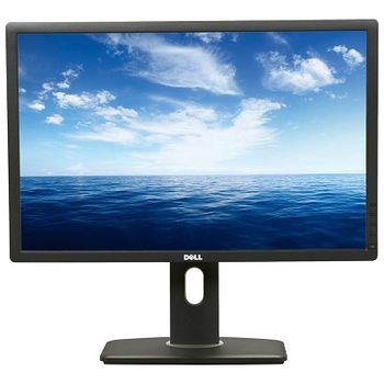 """24.0"""" DELL IPS LED UltraSharp U2412M Black (8ms, 2M:1 ASCR, 250cd, 1920x1200, Pivot, DisplayPort, DVI,  USB2.0 Hub )."""