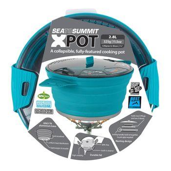 купить Кастрюля складная Sea to Summit X-Pot 2.8 L, pacific blue, AXPOT2.8 в Кишинёве