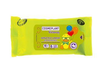 купить Victoraș влажные салфетки гипоаллергенные, 15шт в Кишинёве
