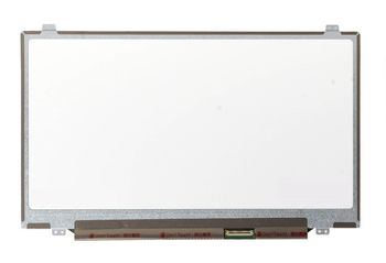 "Display 14.0"" LED Slim 40 pins HD (1366x768) Brackets Up-Down Glossy HB140WX1-500,HB140WX1-300,M140NWR1 R0"