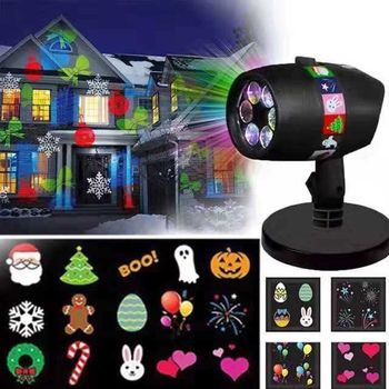 Proiector laser exterior Christmas Laser Projector