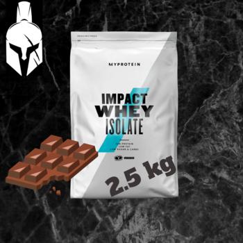 Изолят сывороточного белка - Impact Whey Isolate - Черный шоколад - 2.5 KG
