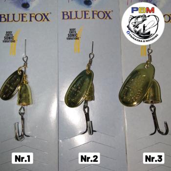 Вращающаяся блесна Blue Fox Nr.3