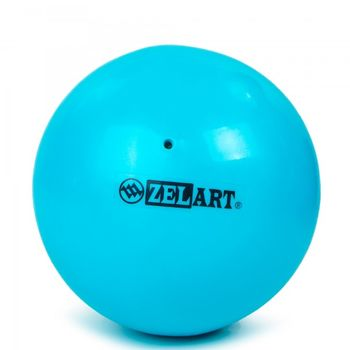 Мяч для пилатеса d=20 см, 400 гр., PVC GB-5219, blue (4190)