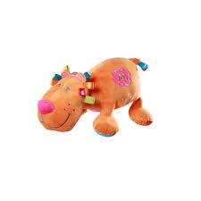 Игрушка велюровая с погремушкой Лев - 40 см