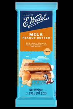 Молочный шоколад Wedel Peanut Butter, 290г