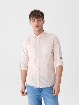 Рубашка HOUSE Бежевый vo040-03x