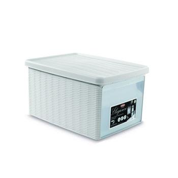 купить Коробка Elegance с боковой дверцей S 190x290x160 мм, белый в Кишинёве
