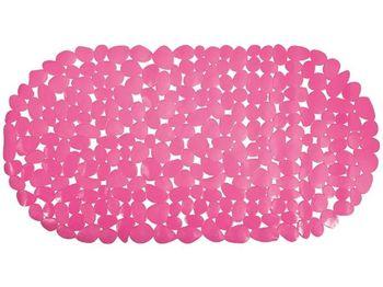"""купить Коврик для ванны 35X68cm """"Галька"""" овал, розовый, PVC в Кишинёве"""