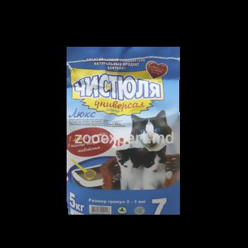 купить Наполнитель для кошачьего туалета ЧИСТЮЛЯ Универсал 5 kg в Кишинёве