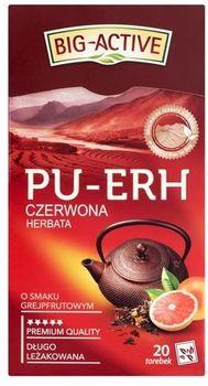 Чай Big Active Pu-Erh with Grapefruit, 20 шт