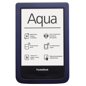 PocketBook 640 Aqua Bark Blue