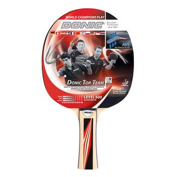 Ракетка для настольного тенниса Donic Top Team 600 / 733236, 1.7 mm, Donic**-rubber (3201)