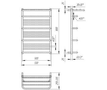 Премиум Люксор 800x530/500